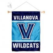 Villanova Wildcats Window Hanging Banner with Suction Cup