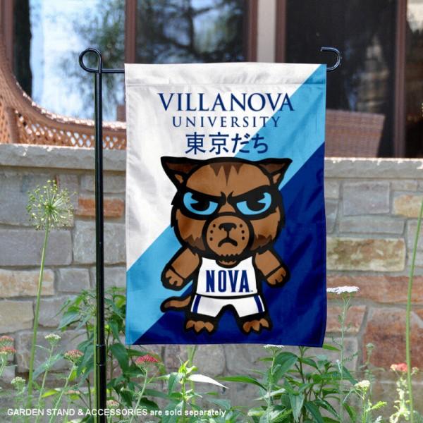 Villanova Wildcats Yuru Chara Tokyo Dachi Garden Flag