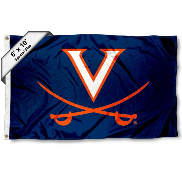 Virginia Cavaliers 6x10 Foot Flag