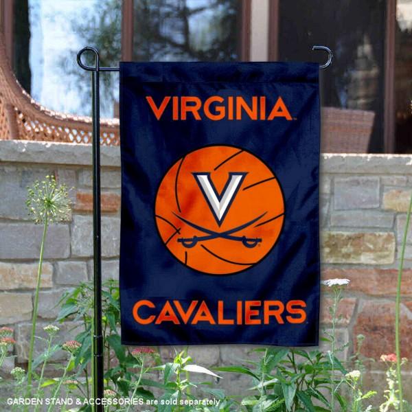Virginia Cavaliers Basketball Garden Flag