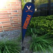 Virginia Cavaliers Mini Teardrop Garden Flag