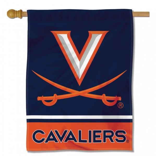 Virginia Cavaliers Polyester House Flag