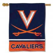 Virginia Cavaliers Polyester House Flag