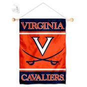 Virginia Cavaliers Window Hanging Banner with Suction Cup