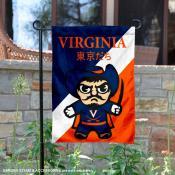 Virginia Cavaliers Yuru Chara Tokyo Dachi Garden Flag