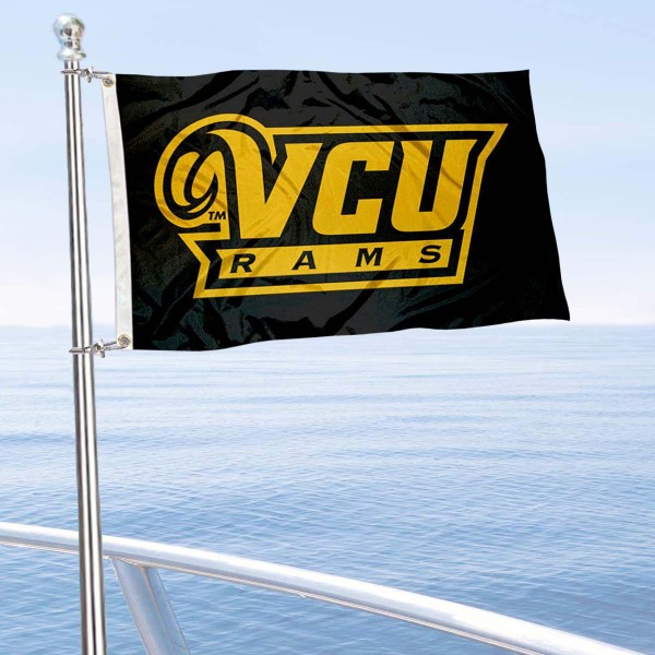 Virginia Commonwealth Rams Boat Flag