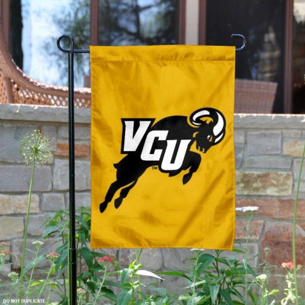 Virginia Commonwealth Rams Garden Flag