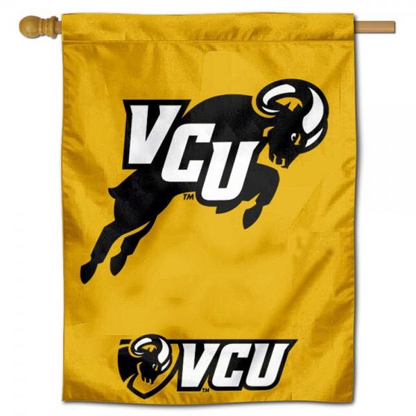 Virginia Commonwealth Rams House Flag