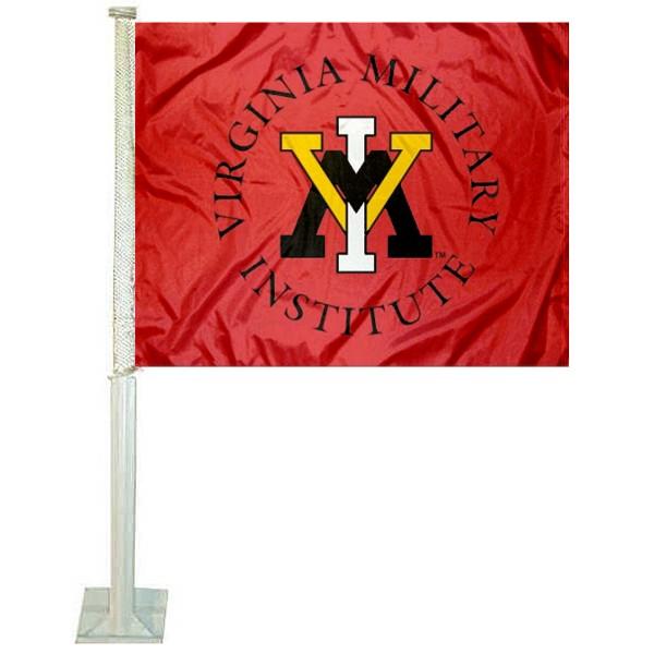 Virginia Military Institute VMI Car Flag