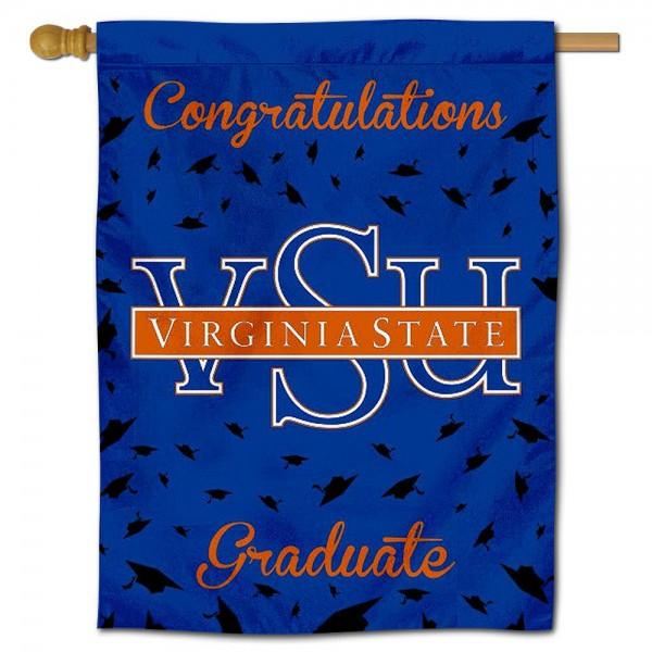 Virginia State Trojans Graduation Banner