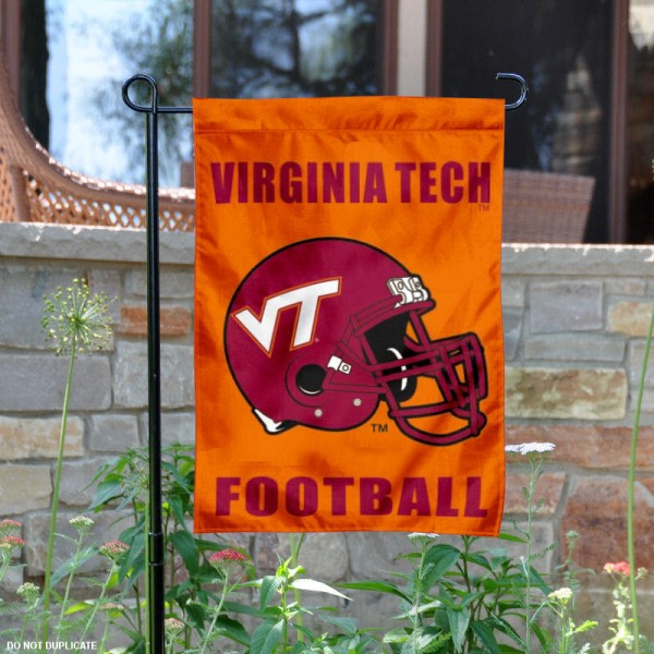 Virginia Tech Hokies Football Garden Flag