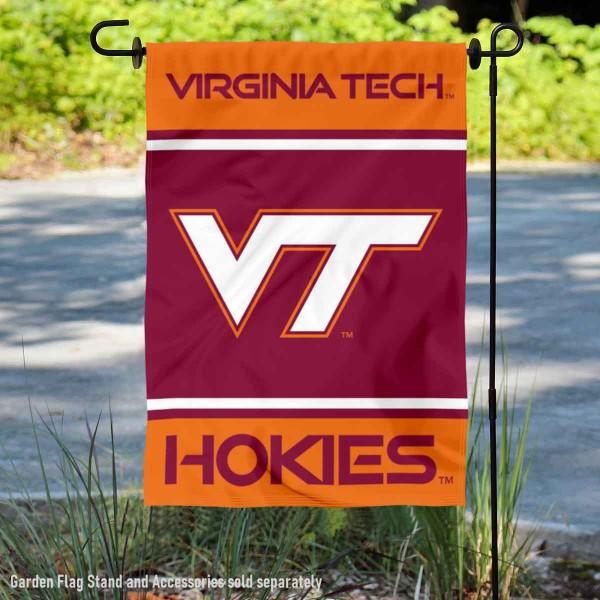 Virginia Tech Hokies Garden Flag