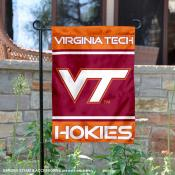 Virginia Tech Hokies Garden Flag