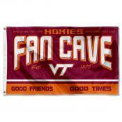 Virginia Tech Hokies Man Cave Dorm Room 3x5 Banner Flag