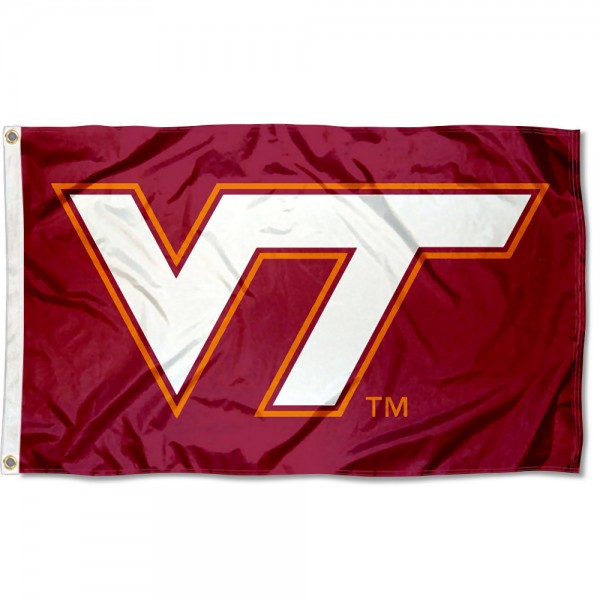 Virginia Tech Hokies Maroon 3x5 Foot Flag