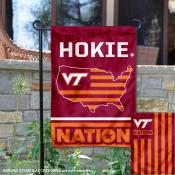Virginia Tech Hokies Nation Garden Flag
