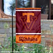 Virginia Tech Hokies Retro Throwback Garden Banner
