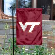 Virginia Tech Hokies VT Logo Garden Flag
