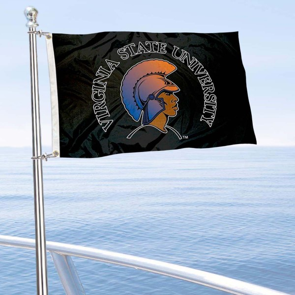 VSU Trojans Boat Nautical Flag