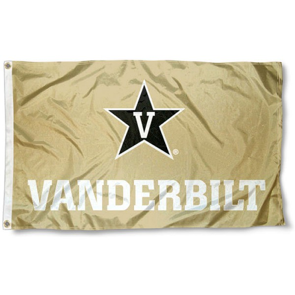 VU Commodores Gold Flag