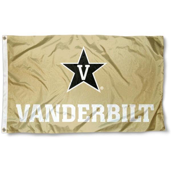 VU Commodores Gold Flag