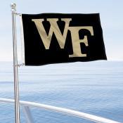 Wake Forest Boat Nautical Flag