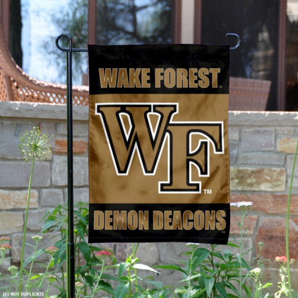 Wake Forest Demon Deacons Garden Flag