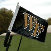 Wake Forest Golf Cart Flag