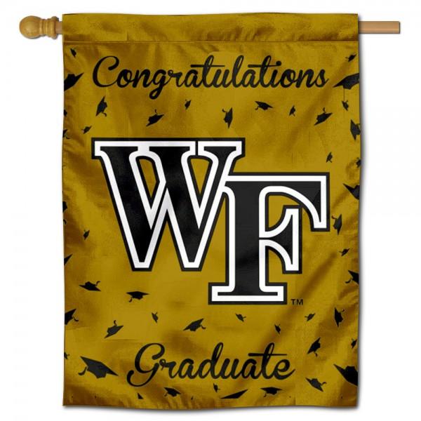 Wake Forest Graduation Banner