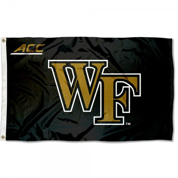 Wake Forest University ACC Flag