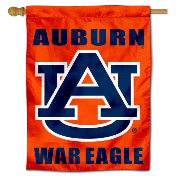 War Eagle Auburn House Flag