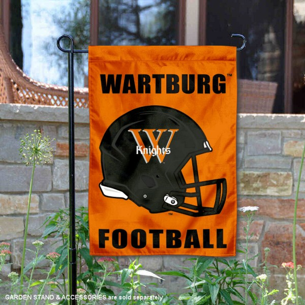 Wartburg Knights Football Garden Flag