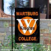 Wartburg Knights Garden Flag