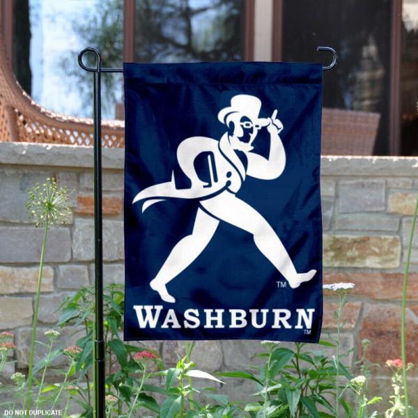 Washburn Ichabods Garden Flag