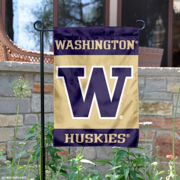 Washington Huskies Garden Flag