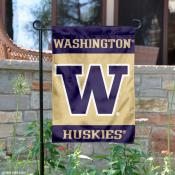 Washington Huskies Garden Flag