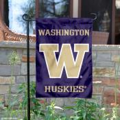Washington Huskies Logo Garden Banner