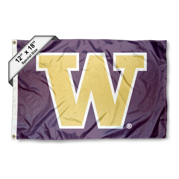 Washington Huskies Mini Flag