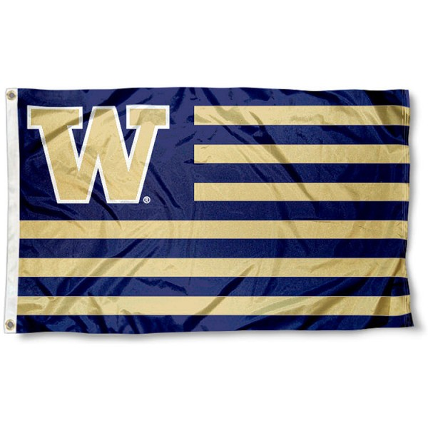 Washington Huskies Nation Flag