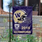 Washington Huskies Pac 12 2016 Champs Garden Flag
