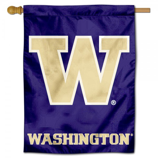 Washington Huskies Polyester House Flag