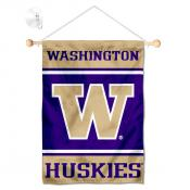 Washington Huskies Window Hanging Banner with Suction Cup