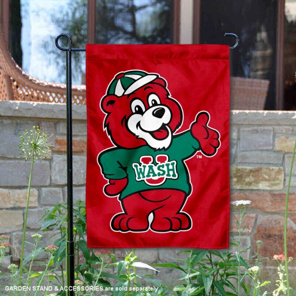 Washington St. Louis Bears Mascot Garden Flag