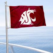 Washington State Cougars Boat Flag