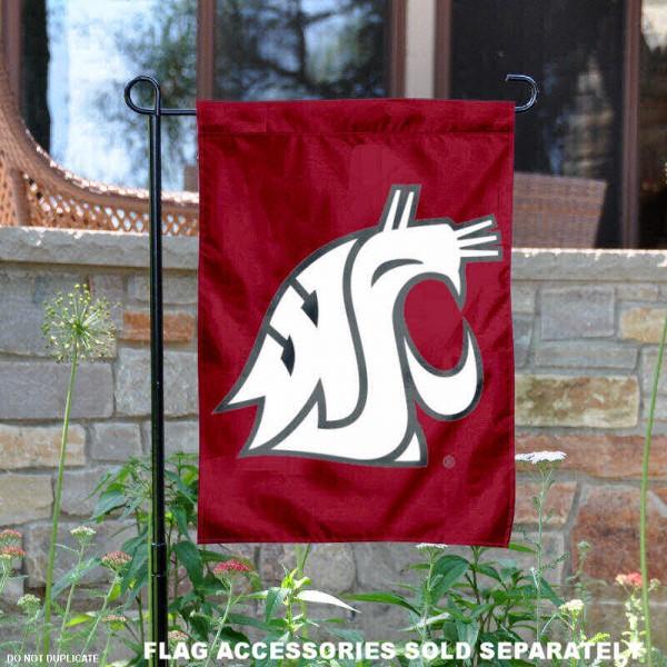 Washington State Cougars Garden Flag