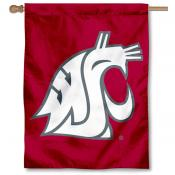 Washington State Cougars House Flag