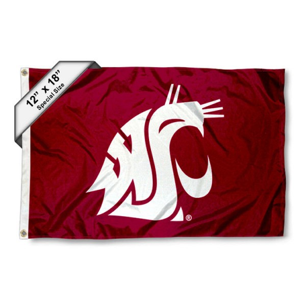 Washington State Cougars Mini Flag