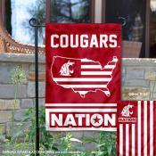 Washington State Cougars Nation Garden Flag