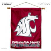 Washington State Cougars Wall Hanging