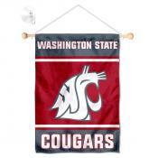 Washington State Cougars Window Hanging Banner with Suction Cup